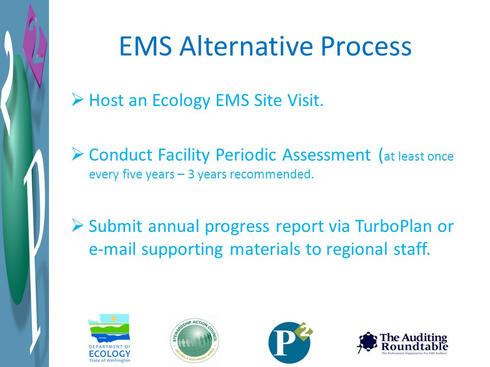 EMS Alternative Process
