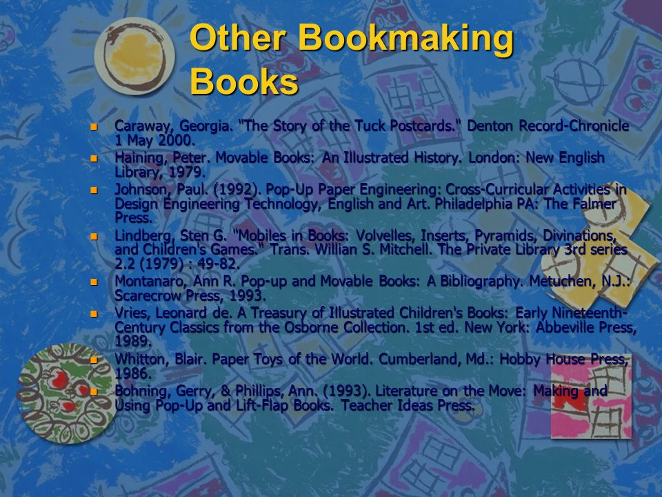 Other Bookmaking Books