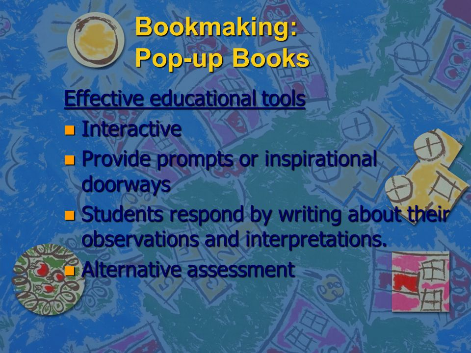 Bookmaking: Pop-up Books