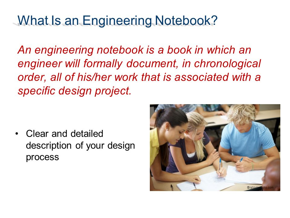 What Is an Engineering Notebook