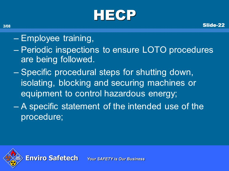 HECP Employee training,