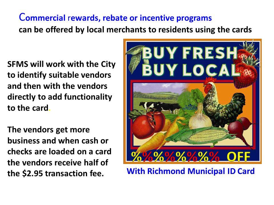 With Richmond Municipal ID Card