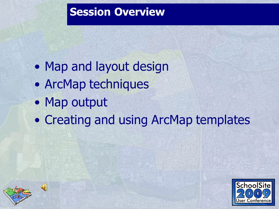 Creating and using ArcMap templates