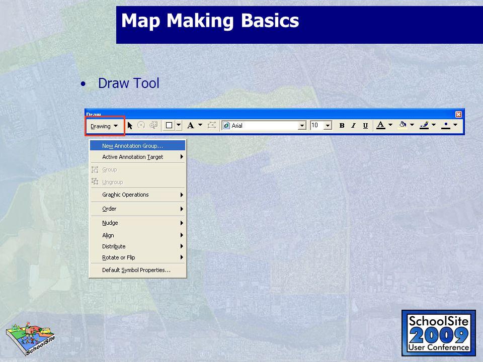 Map Making Basics Draw Tool