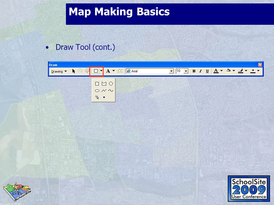 Map Making Basics Draw Tool (cont.)