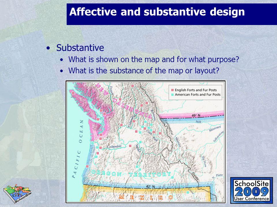 Affective and substantive design