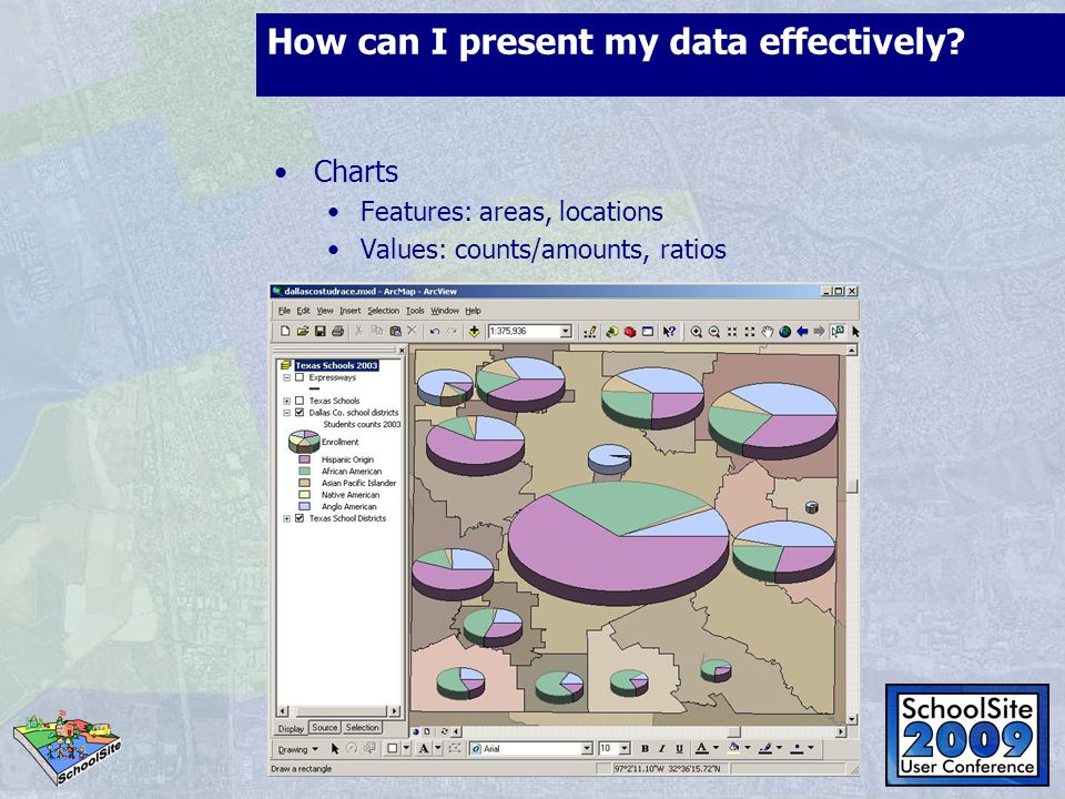 How can I present my data effectively