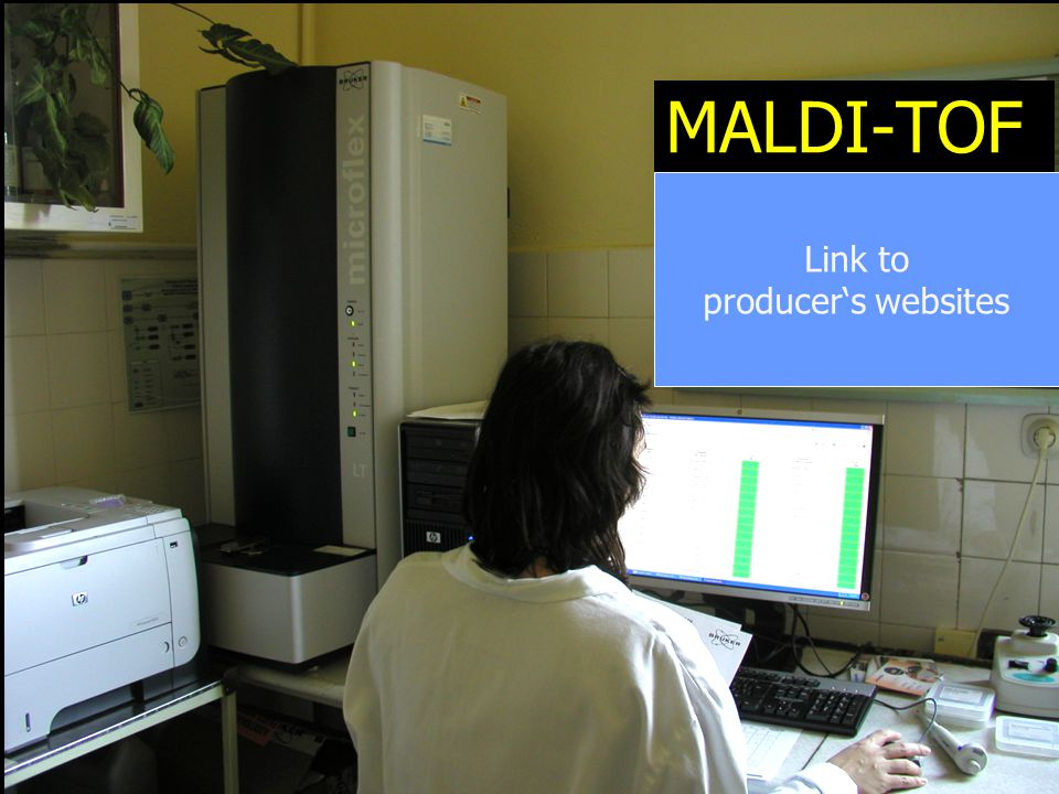MALDI-TOF Link to producer's websites