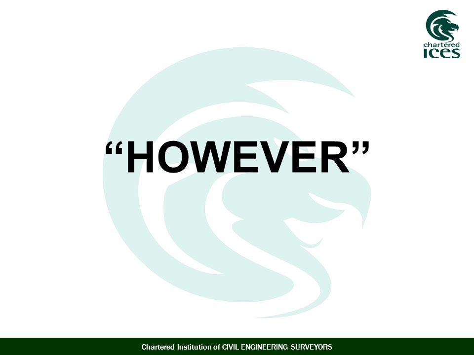 HOWEVER