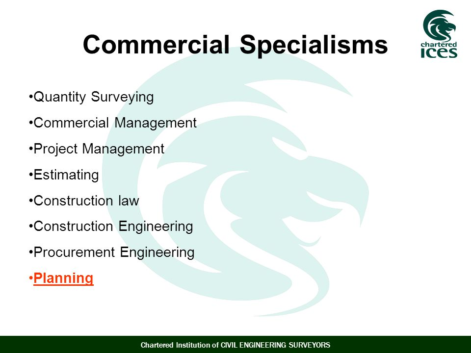 Commercial Specialisms