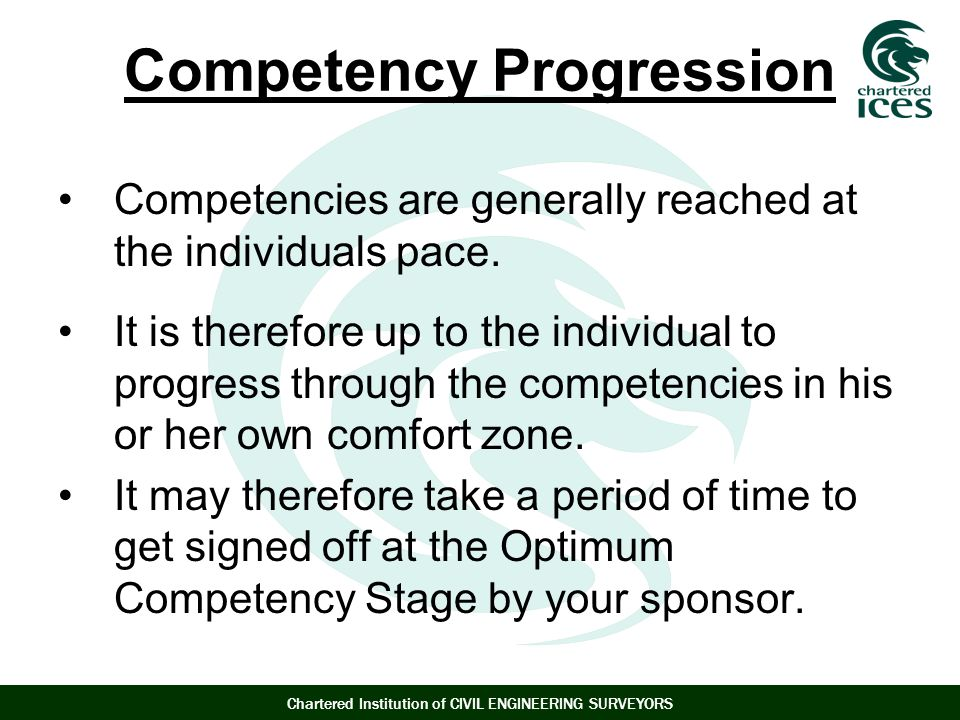 Competency Progression