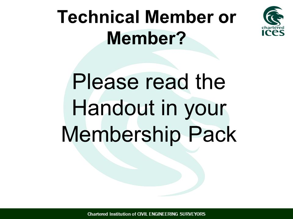 Technical Member or Member