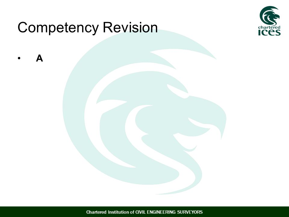 Competency Revision A