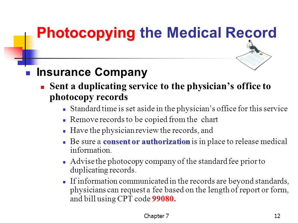 Photocopying the Medical Record