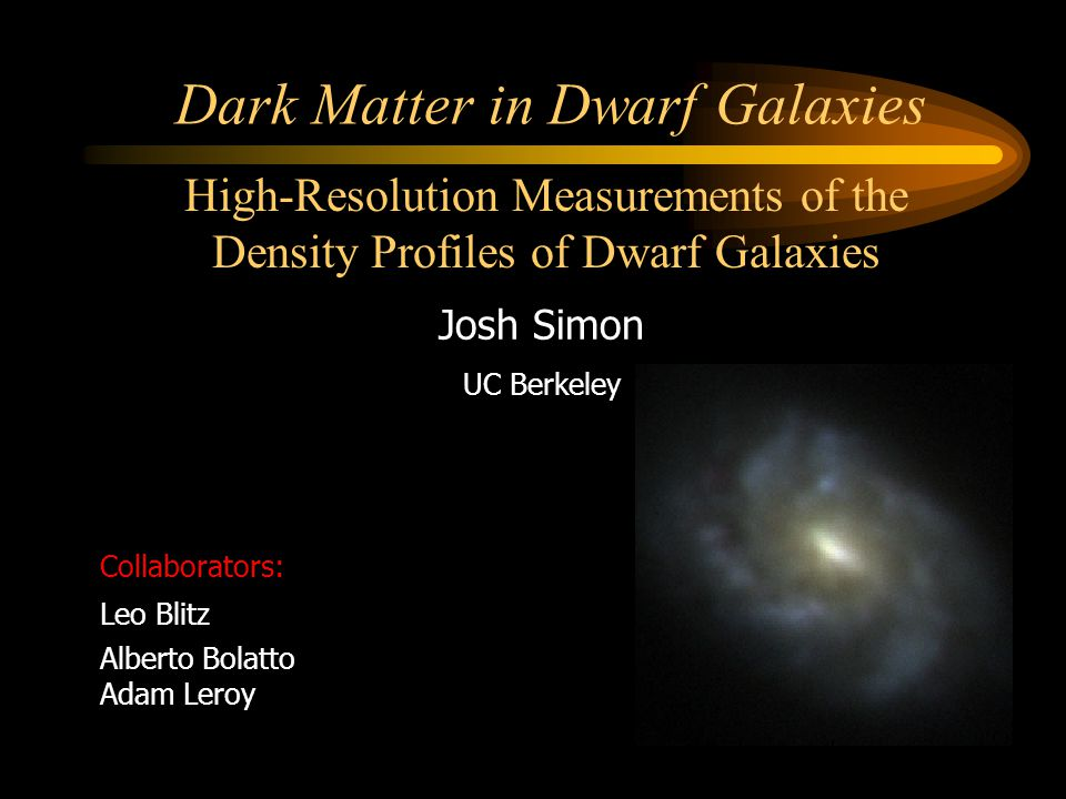 Dark Matter in Dwarf Galaxies
