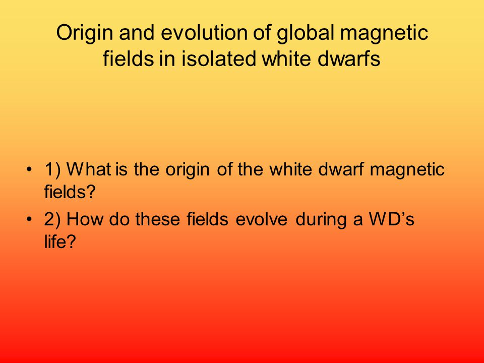 Origin and evolution of global magnetic fields in isolated white dwarfs