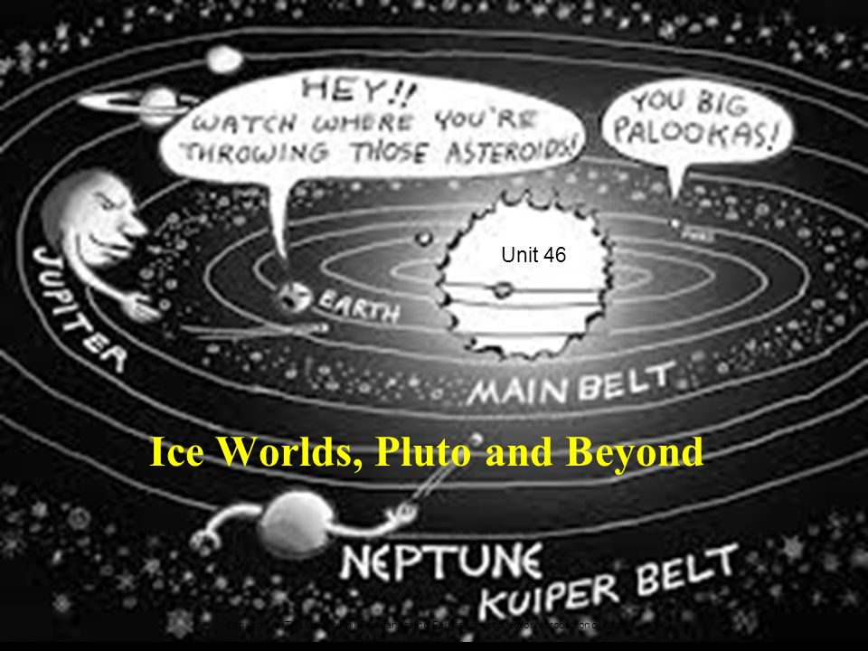 Ice Worlds, Pluto and Beyond