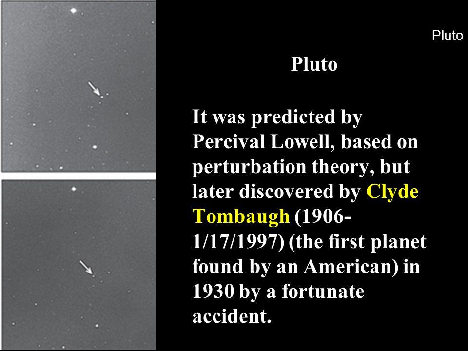 Pluto Pluto.