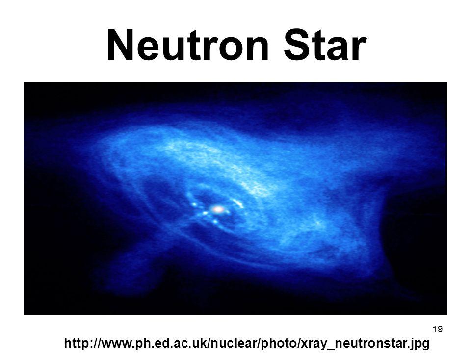 Neutron Star http://www.ph.ed.ac.uk/nuclear/photo/xray_neutronstar.jpg