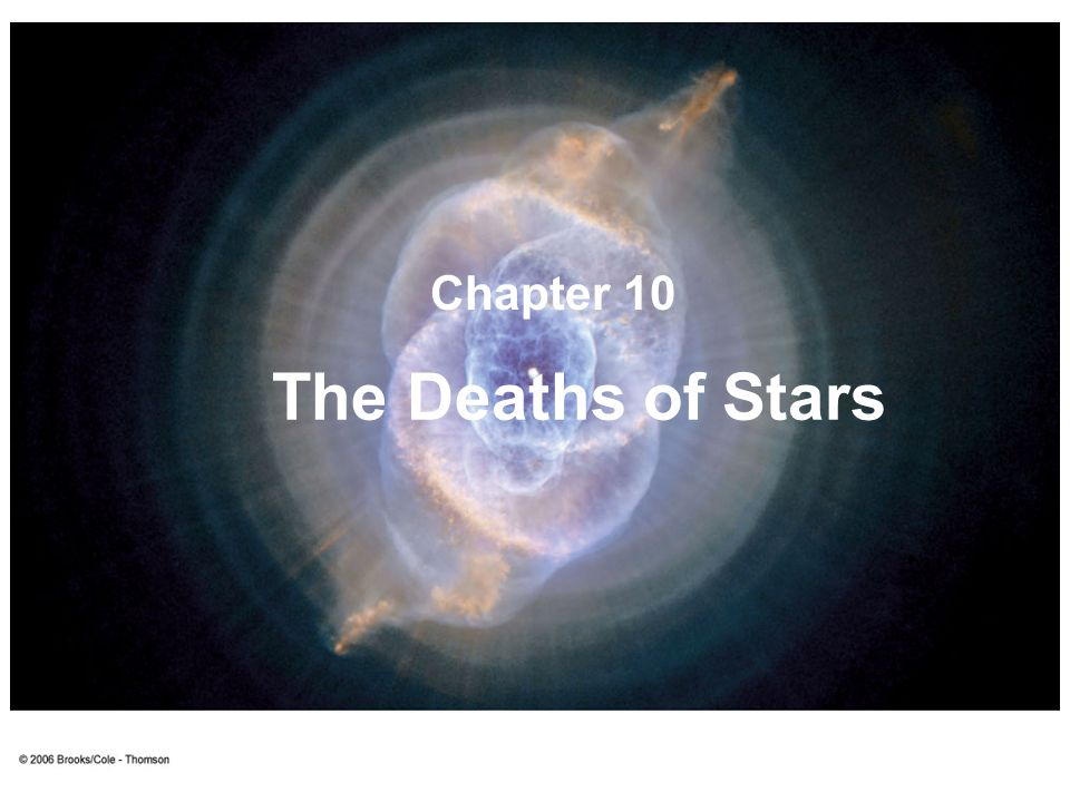 Chapter 10 The Deaths of Stars