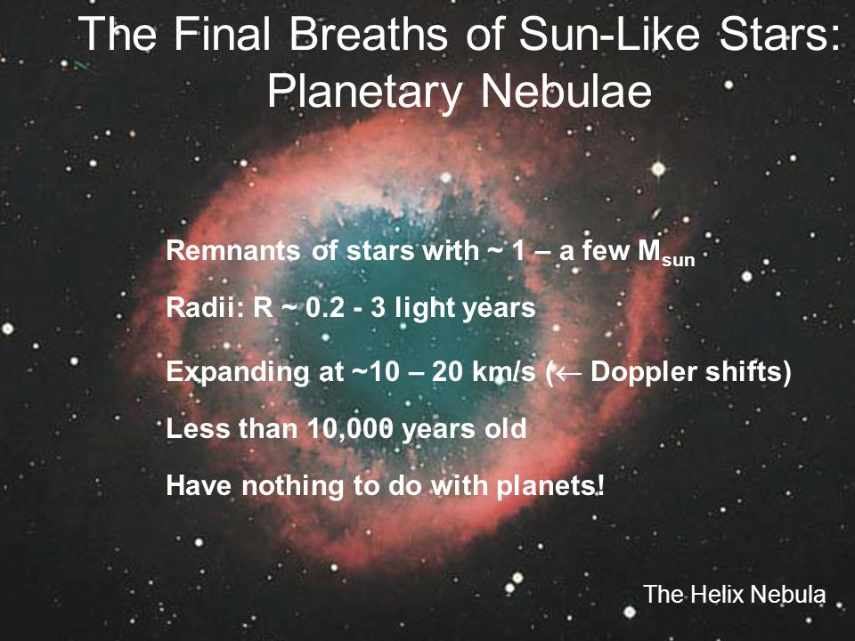The Final Breaths of Sun-Like Stars: Planetary Nebulae