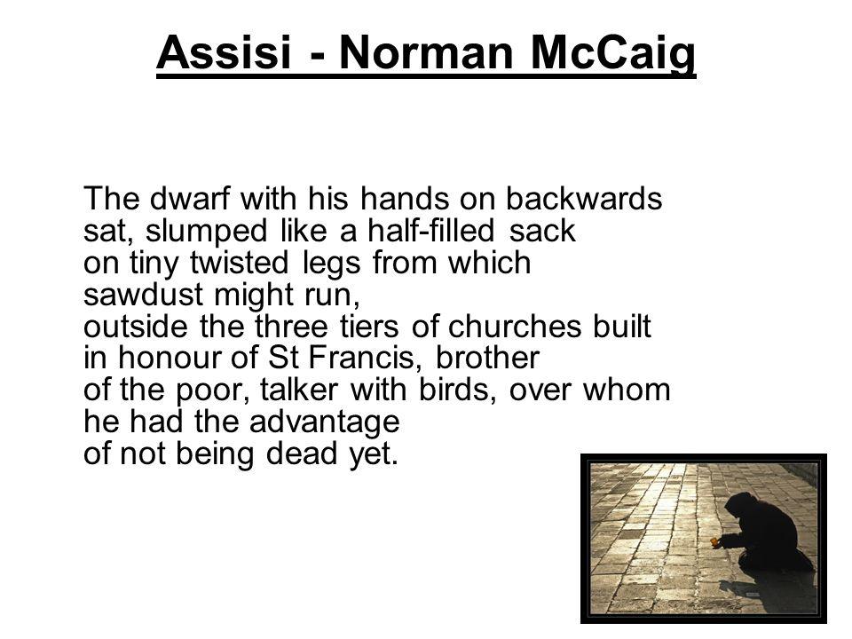 Assisi - Norman McCaig