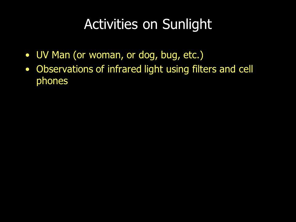 Activities on Sunlight