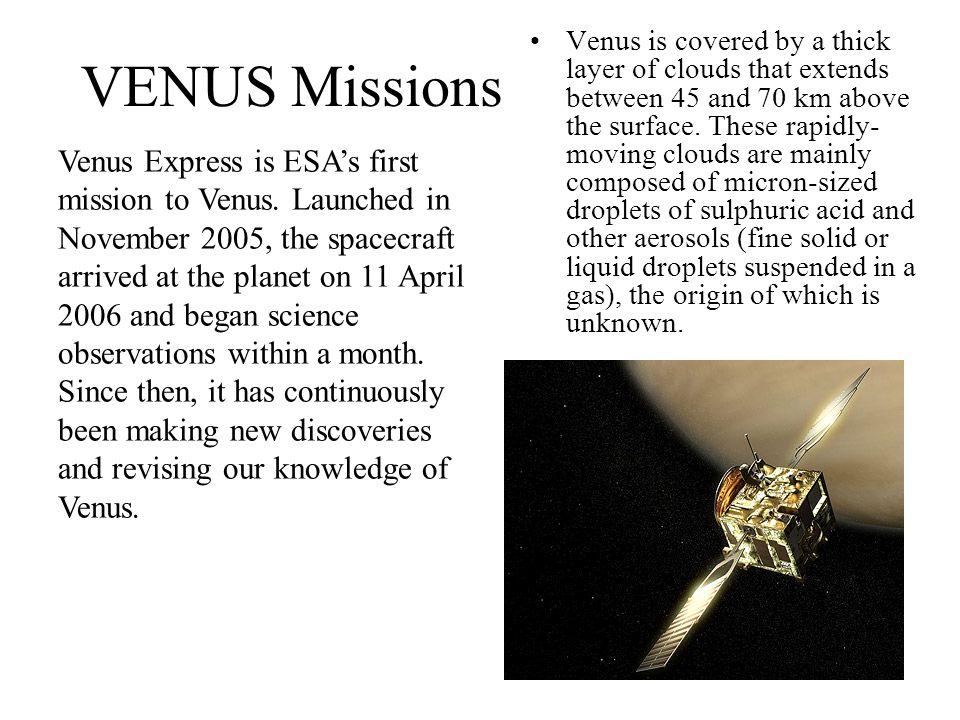 VENUS Missions