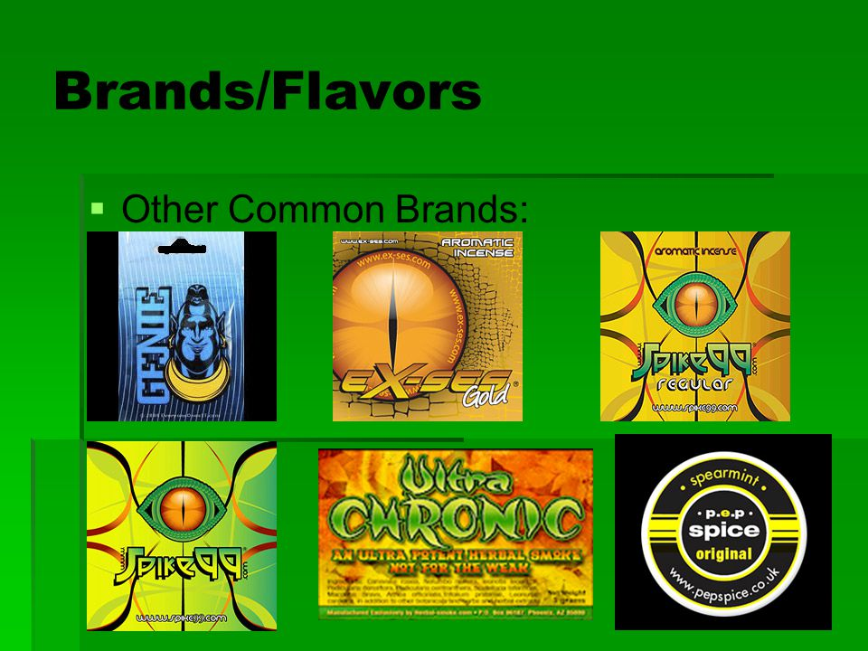 Brands/Flavors Other Common Brands: