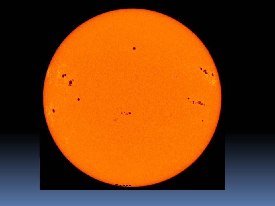 Photosphere with Sun Spots