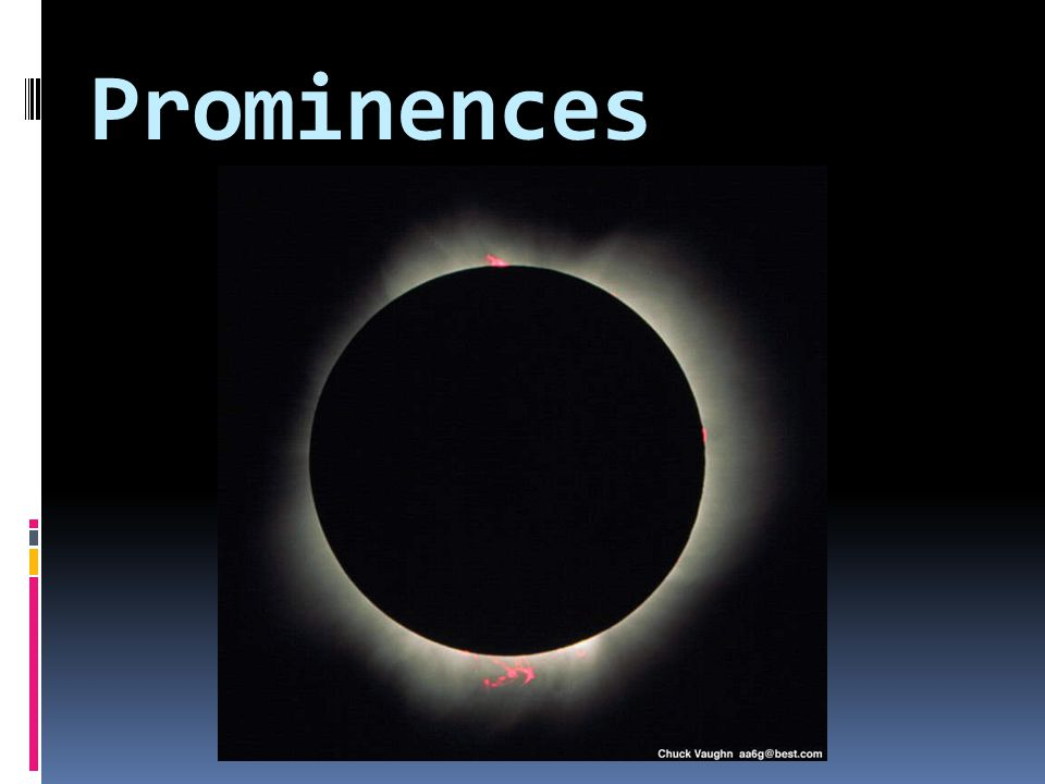 Prominences