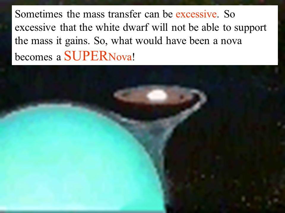 Sometimes the mass transfer can be excessive