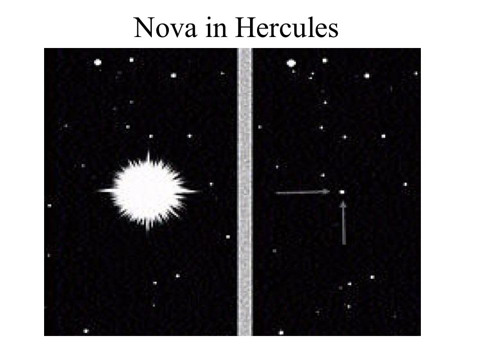 Nova in Hercules