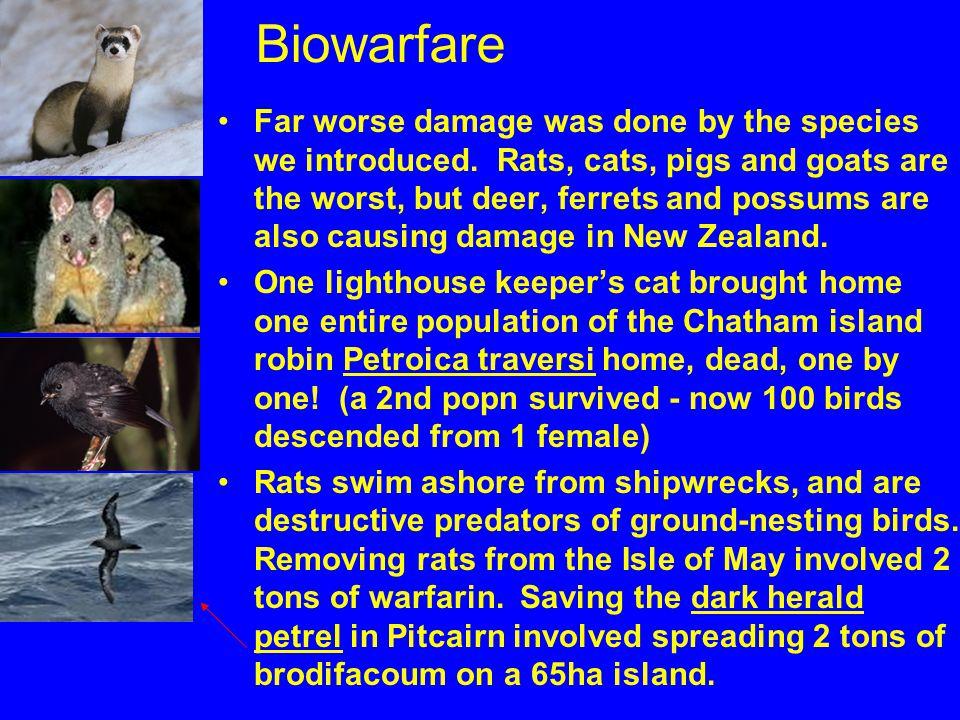 Biowarfare
