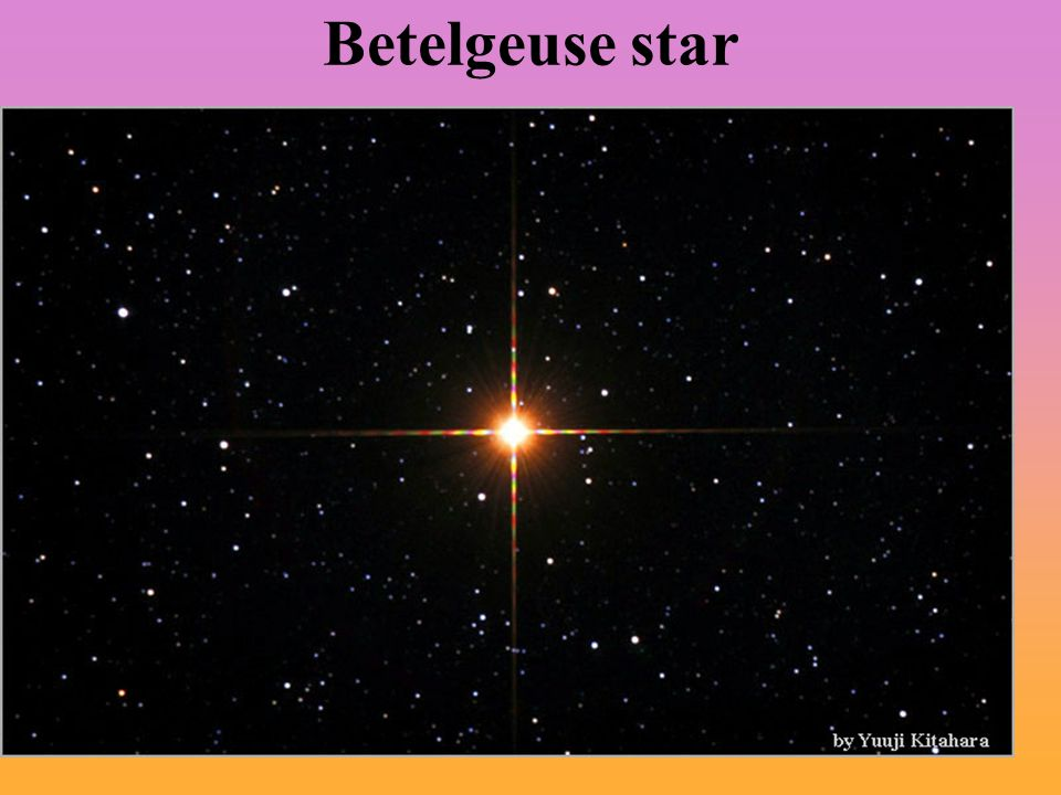 Betelgeuse star