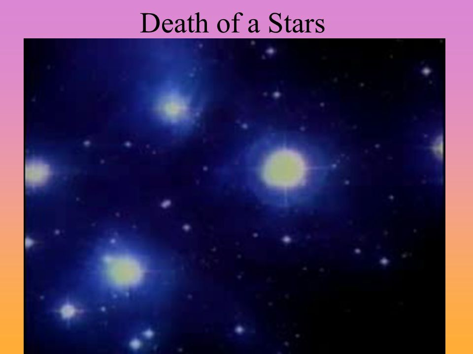 Death of a Stars