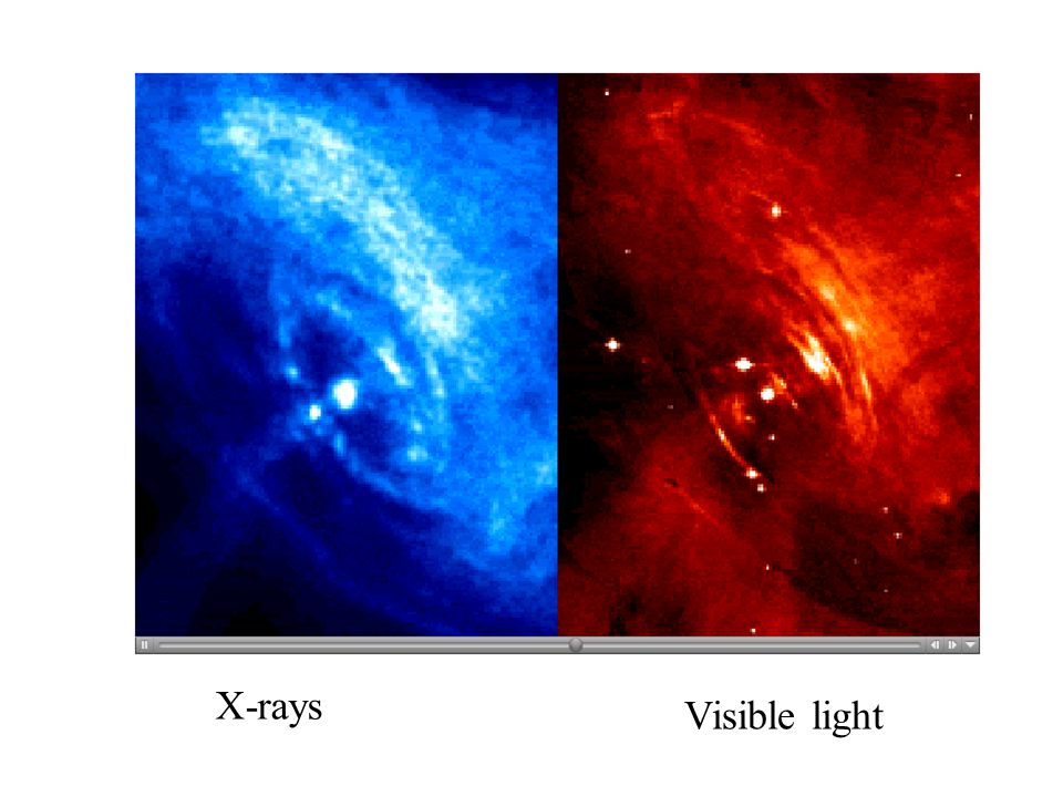 X-rays Visible light