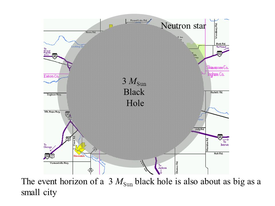Neutron star 3 MSun Black Hole