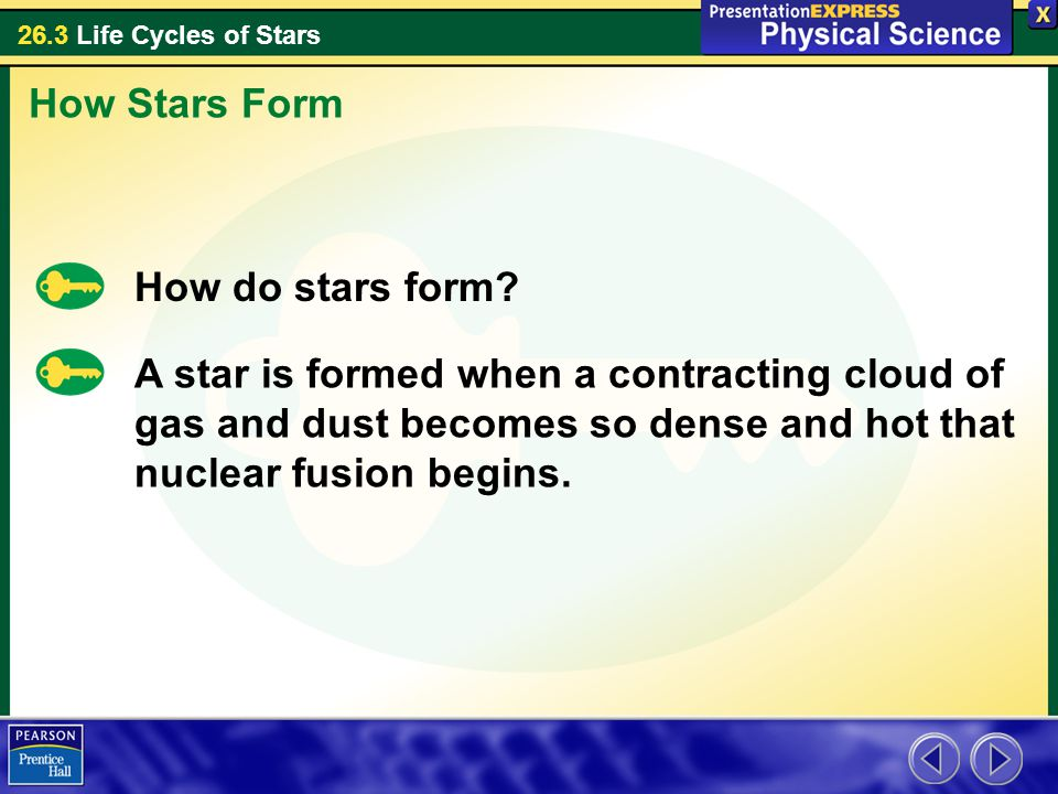 How Stars Form How do stars form.