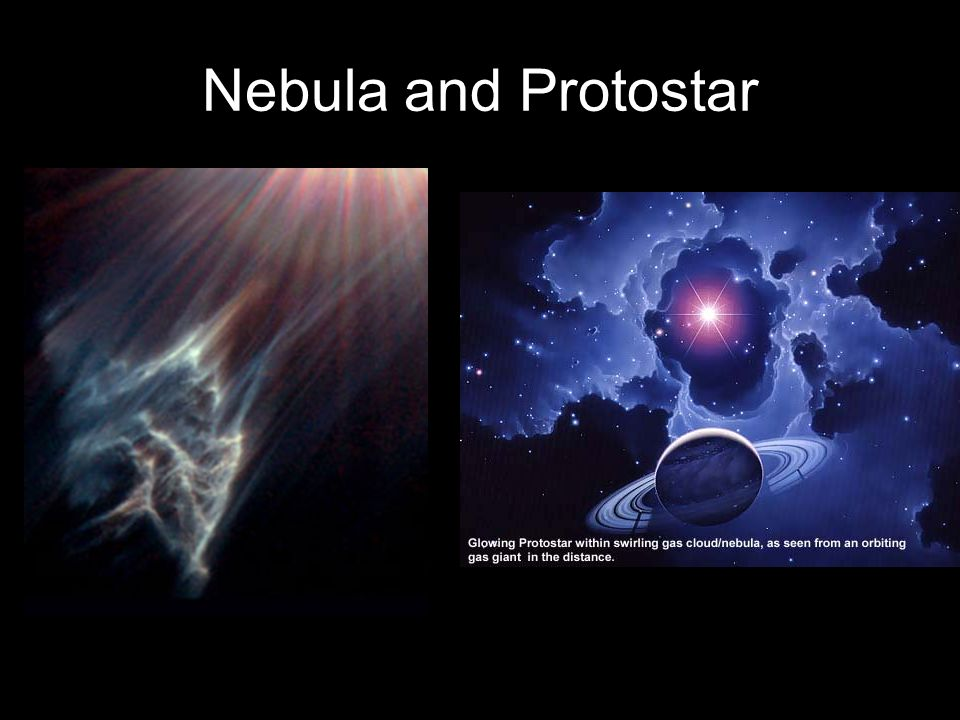 Nebula and Protostar