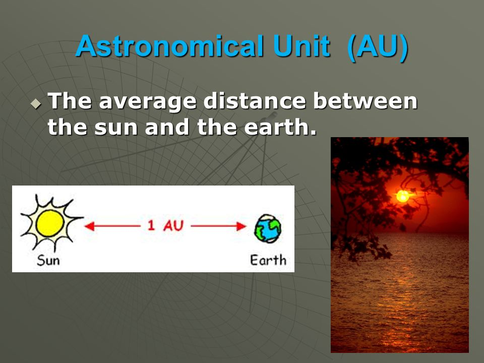 Astronomical Unit (AU)