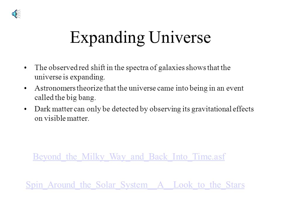 Expanding Universe Beyond_the_Milky_Way_and_Back_Into_Time.asf