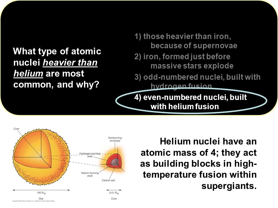 1) those heavier than iron, because of supernovae