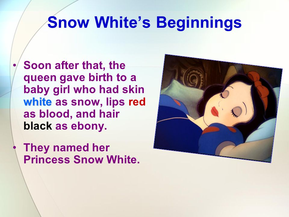 Snow White's Beginnings