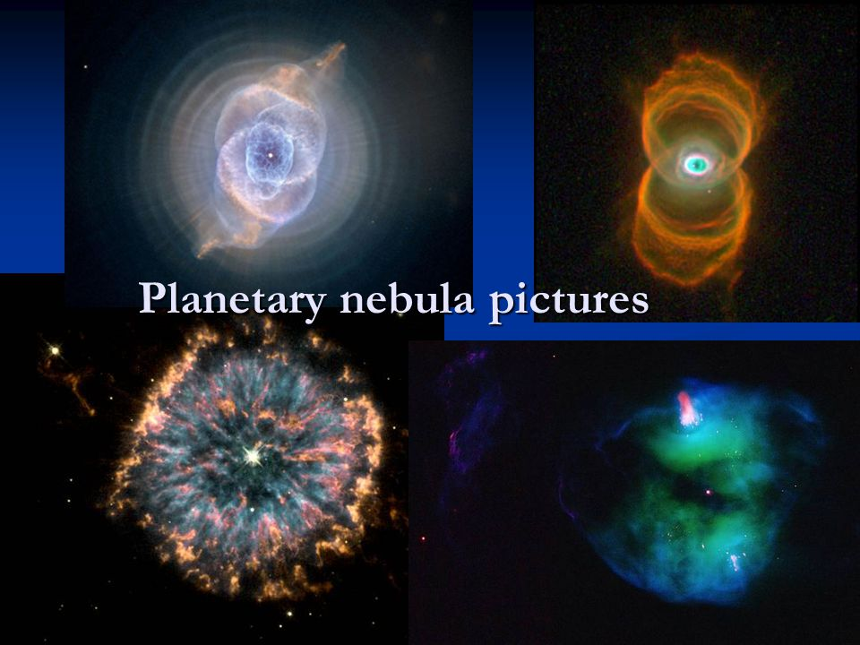 Planetary nebula pictures