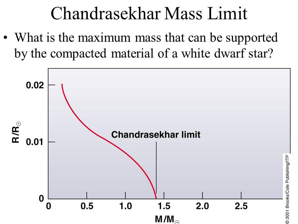 Chandrasekhar Mass Limit