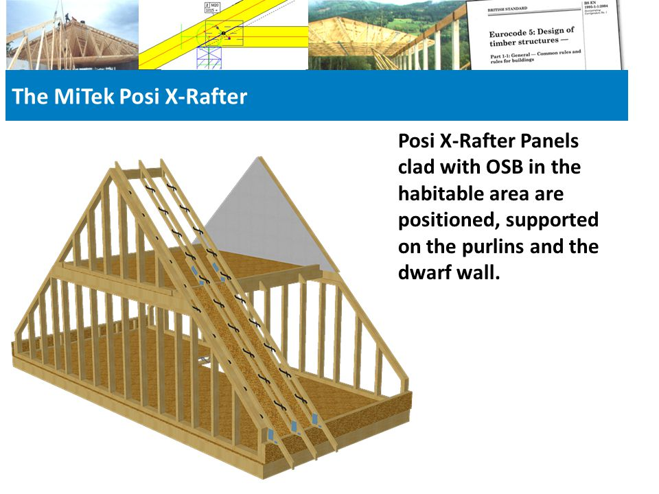 The MiTek Posi X-Rafter