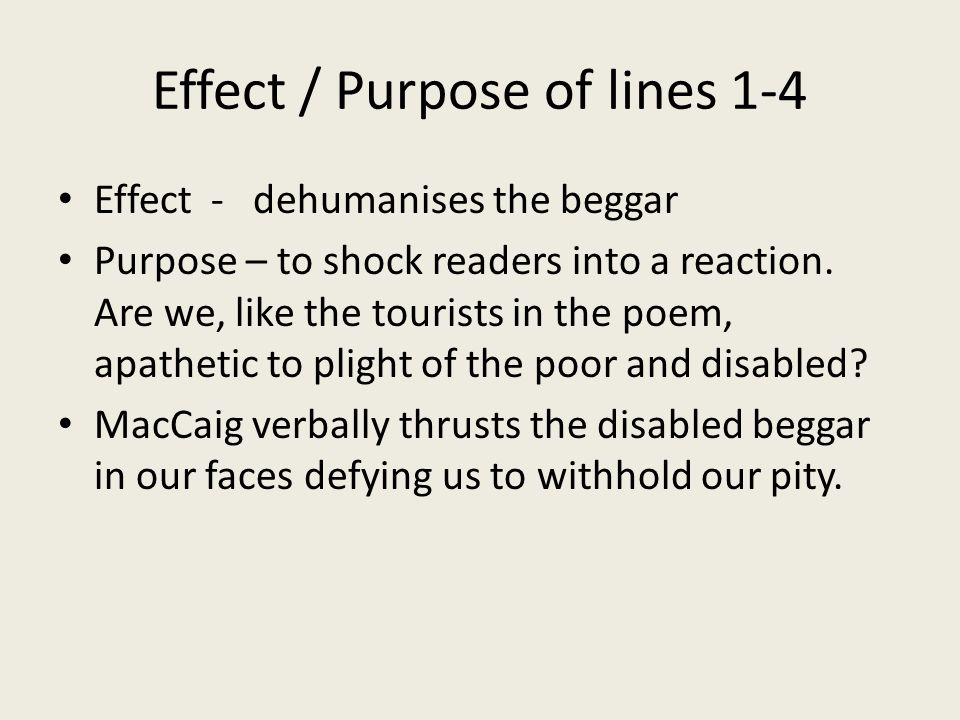 Effect / Purpose of lines 1-4