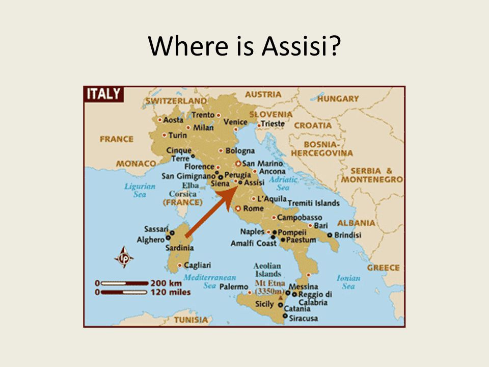 Where is Assisi