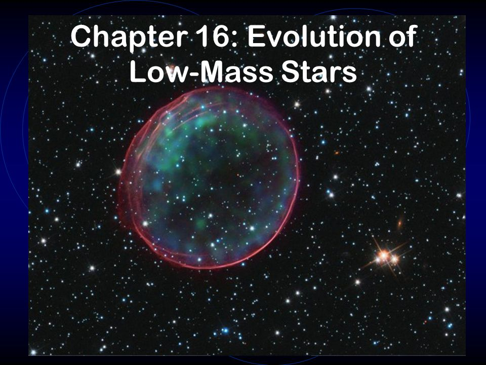 Chapter 16: Evolution of Low-Mass Stars